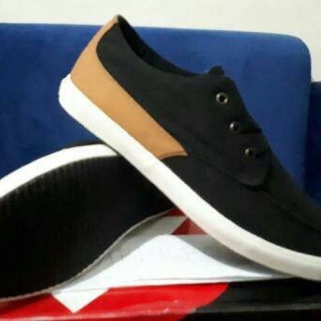 Sepatu Airwalk Original Benroy Black Brown