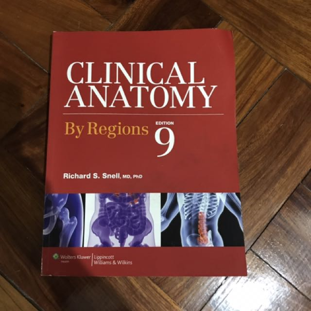 Snell Anatomy Textbooks On Carousell