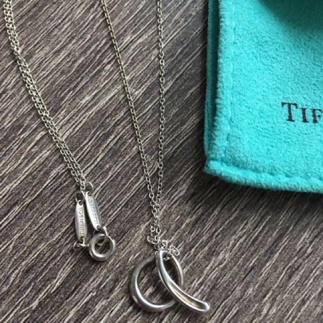 """Tiffany & Co Elsa Peretti """"A"""" Necklace"""