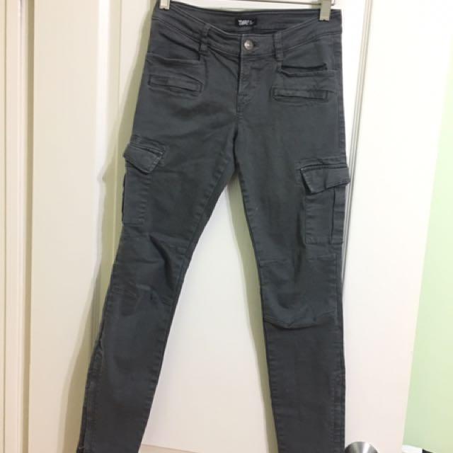 TNA Cargo Skinny Jeans - 0