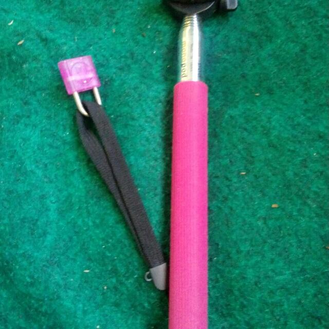 Tongsis Pink