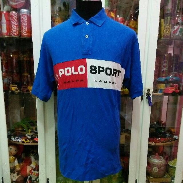 39a99f84fc4 Vintage 90's Polo Sport By Ralph Lauren Spellout Big Logo Hip Hop ...