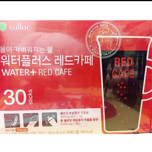 韓國Water+纖體茶 咖啡口味
