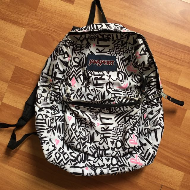 White Jansport Bag (Original)