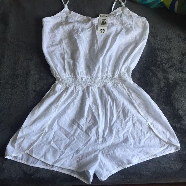 White jumpsuit