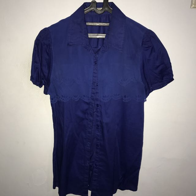 Women's Blue Top