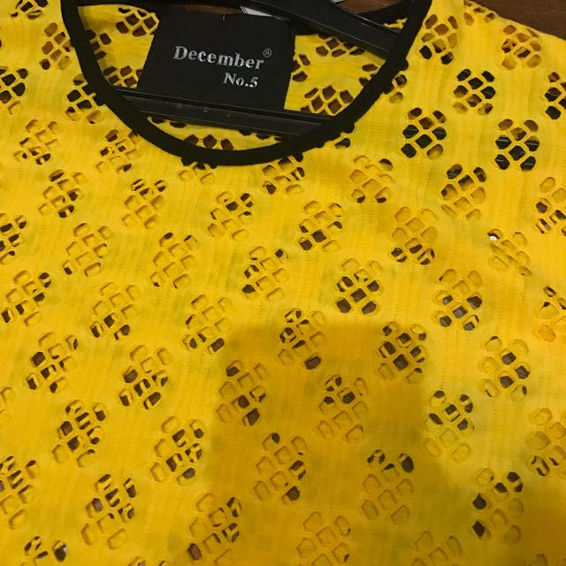 Yellow Outer Dress