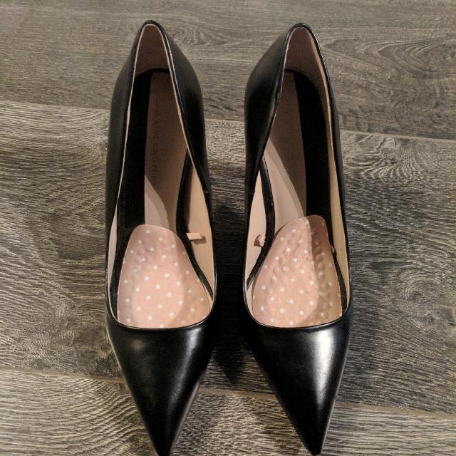 Zara Black Heels Size 37 (size 6-7.5)