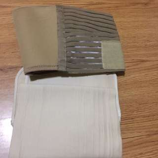RUSH SALE! Set of 2 maternity binders! Auth CURAD brand! Gently used condition!