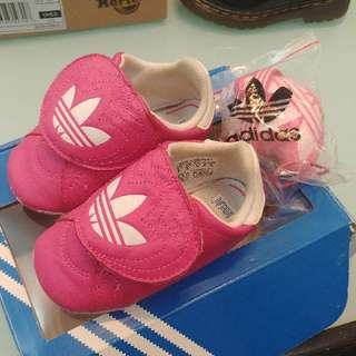 ❤99% New Adidas Baby Shoes With Box