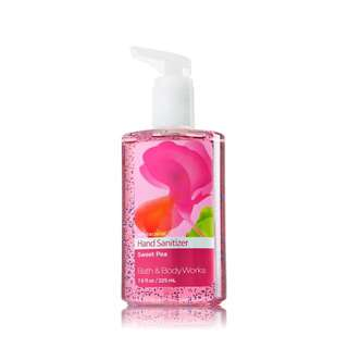 Bath And Body Works Hand Sanitizer - Sweet Pea 225ml