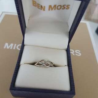 Ben Moss Diamond Silver Ring