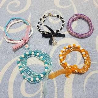 Bundle for 60php - Set of 5 Bracelets