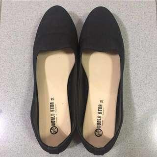 Ballerina Flats (black) Size 38