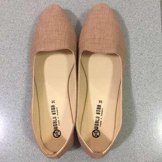 Ballerina Flats (brown) Size 38