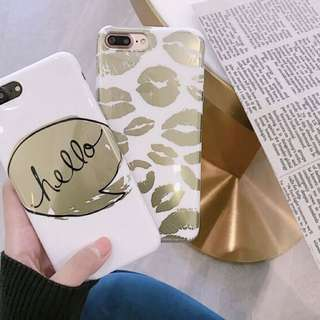 [PREORDER] Words/Lips iPhone 6/plus @ 7/plus Slim Protective Soft Case