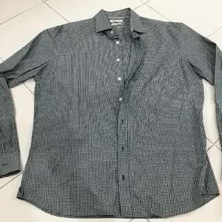 H.E By MANGO Smart Casual Shirt (Green)