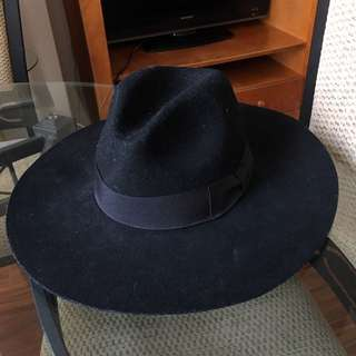 Large Felt Hat