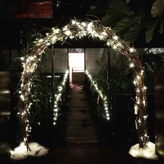 ROM Solemisation Wedding Arch