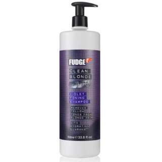 Fudge Clean Blonde Purple Toning Shampoo