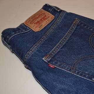 Mens Levis 550 Denim Jeans Size 32W 30L