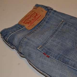 Mens Levis 501 Size 29W 30L