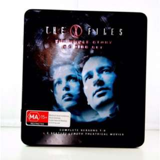 The X-Files Tin Collectors Box Set Complete Series