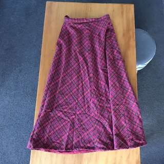Vintage Highwaist Maxi skirt