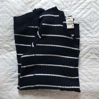 Blue/White Striped Jumper
