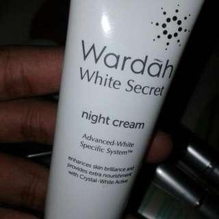 Wardah Night Cream White Secret