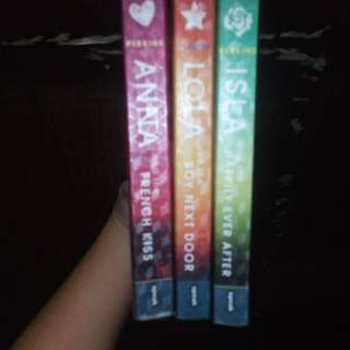 The Anna And The French Kiss Trilogy