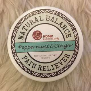 Pain reliver balm