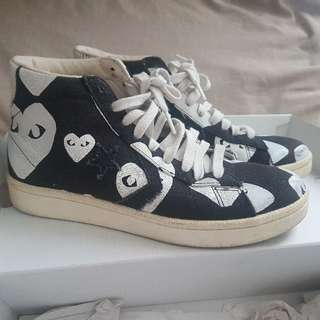 Comme des Garcons hitop sneakers size 39 - ORI
