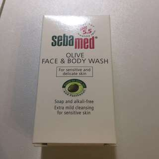 Sebamed Face&Body Wash + Feminine Intimate Wash