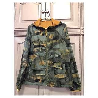 Camouflage Rain Coat/Jacket