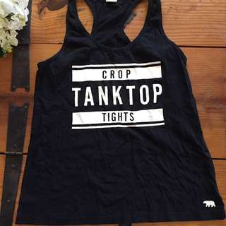 Running Bare Tank top Size 10