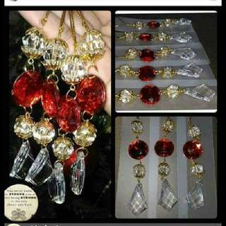 Crystal Rellic Ornaments