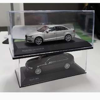 Bundle! 1:43 Scale Audi A3 And A4