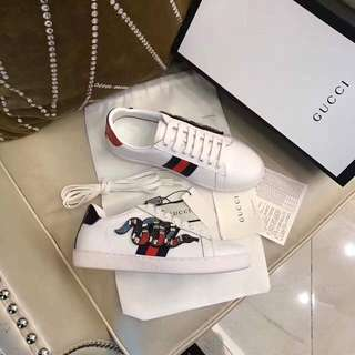 GUCCI Ace embroidered sneakers- size 38