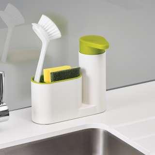 Joseph & Joseph® Sink Tidy Set - Holder - Organise the Kitchen in Style - NEW
