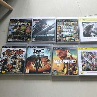 [PS3 中古game] 原裝game 鐵拳街霸 watch dog metal gear