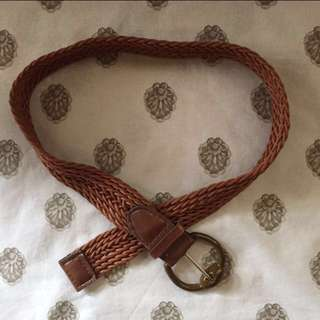 Braided Waist Belt
