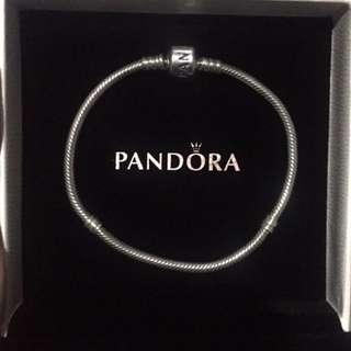 Pandora Silver Bracelet 19 Cm