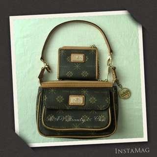 SALE! TOSCANO Hand Bag w/ Mini Wallet