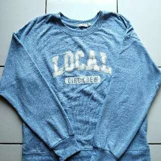 Bershka Local Girl sweatshirt