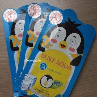 Masker Wajah Character Face Mask Pinguin