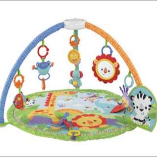 FURTHER REDUCED PRICE - Fisher Price Rainforest Friends Musical Gym