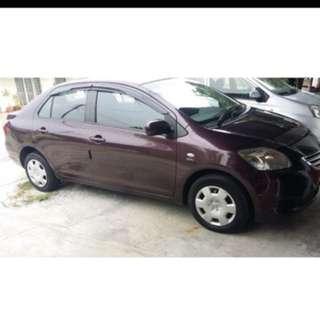 CAR RENTAL: Toyota Vios
