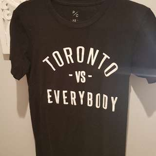 Best offer!!! Peace collective TORONTO VS EVERYBODY tshirt XS