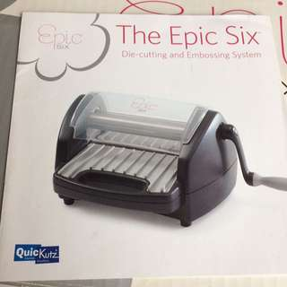 Epic six - Die-cutting & Embossing System